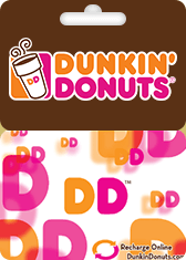 Dunkin Donuts Gift Card Generator