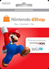 Nintendo Gift Card Generator