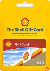 Shell Gift Card Generator