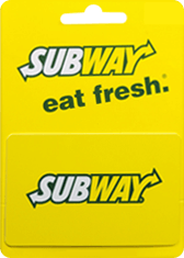 Subway  Gift Card Generator